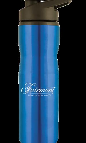 blue water bottle LG12