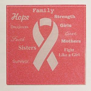 breast cancer tile