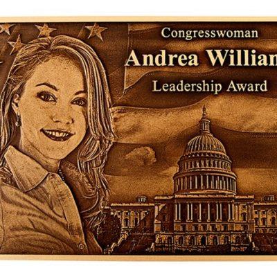 Cast-Bronze-andrea-williams-congress